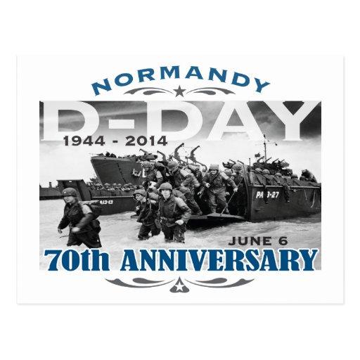 Batalla del aniversario del día D 70.o de Normandí Postal