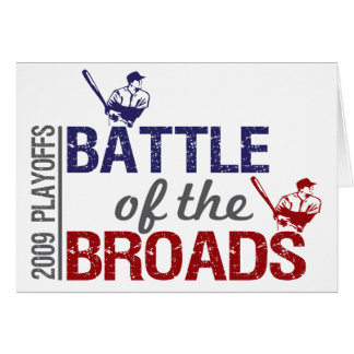 Batalla del Broads Tarjeta De Felicitación