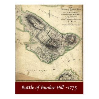 Batalla del Bunker Hill -1775 Postales