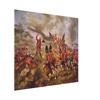 Batalla del Bunker Hill de Edward Percy Moran Impresión En Lona