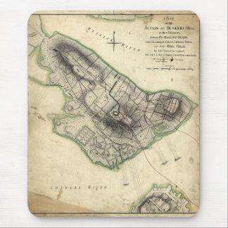 Batalla del Bunker Hill - guerra de revolucionario Tapetes De Ratón
