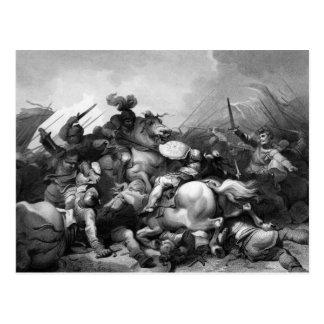 Batalla del campo de Bosworth Postal