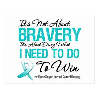 Batalla del cáncer de cuello del útero postal