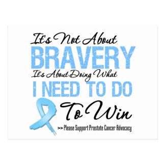Batalla del cáncer de próstata postal
