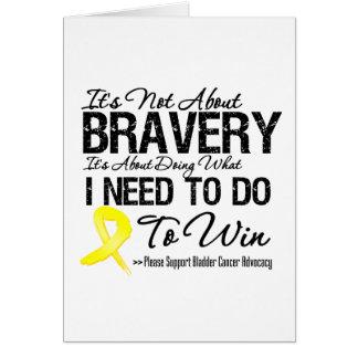 Batalla del cáncer de vejiga felicitaciones