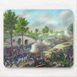 Batalla del cojín de ratón de Antietam Alfombrillas De Raton