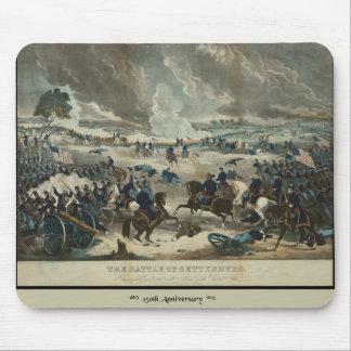 Batalla del color de agua de Gettysburg Alfombrillas De Ratón