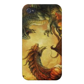 Batalla del dragón, caso del iPhone 4 iPhone 4 Funda