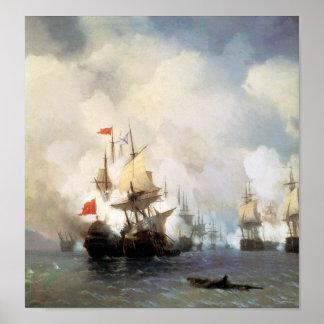 Batalla del estrecho de Quíos Impresiones