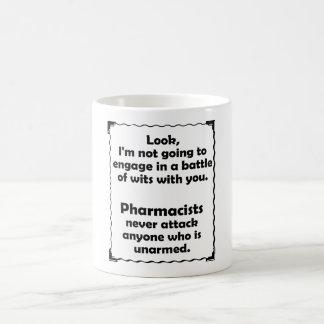 Batalla del farmacéutico de los ingenios taza