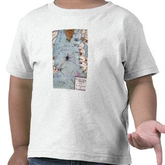 Batalla del fuerte Sumter - guerra civil panorámic Camisetas