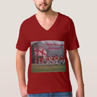 Batalla del gancho - Gloucester, camiseta del VA Poleras