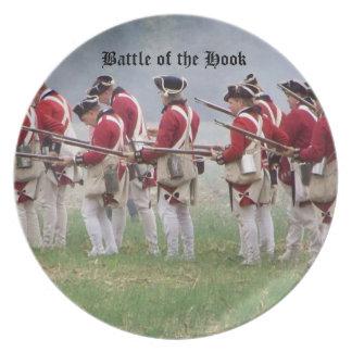 Batalla del gancho - la placa de colector 2 platos de comidas
