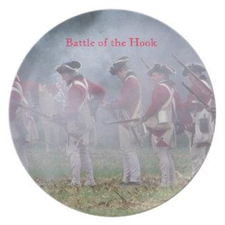 Batalla del gancho - la placa de colector plato para fiesta