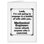 Batalla del ingeniero industrial de los ingenios felicitación