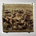 Batalla del Lapiths y Centaurs de Miguel Ángel Impresiones