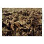 Batalla del Lapiths y Centaurs de Miguel Ángel Felicitación