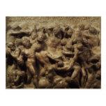 Batalla del Lapiths y Centaurs de Miguel Ángel Postales