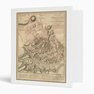"""Batalla del mapa 1784 de la revolución americana carpeta 1"""""""