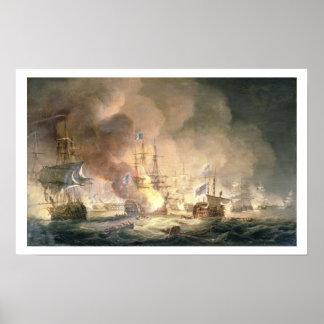 Batalla del Nilo, el 1 de agosto de 1798 en 10pm,  Póster
