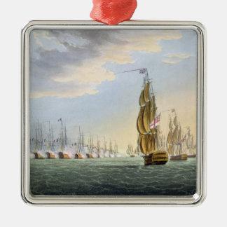 Batalla del Nilo, el 1 de agosto de 1798, grabado  Ornamentos De Navidad