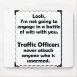 Batalla del oficial del tráfico de los ingenios tapetes de ratones