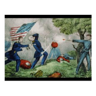 Batalla del pen¢asco de la bola tarjetas postales