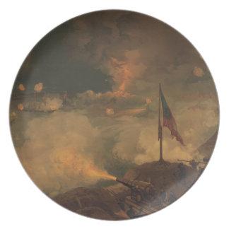 Batalla del puerto el Hudson Platos Para Fiestas