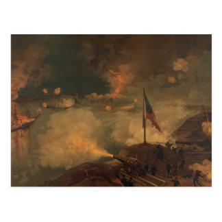 Batalla del puerto el Hudson Tarjetas Postales