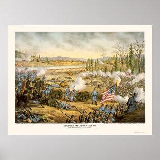 Batalla del río de piedra de Kurz y de Allison 189 Póster