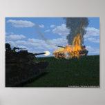 Batalla del tanque posters