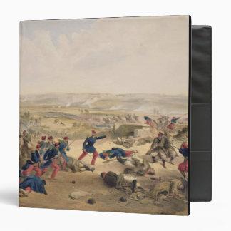 "Batalla del Tchernaya, el 16 de agosto de 1855, Carpeta 1 1/2"""