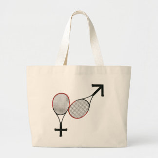 Batalla del tenis de los sexos bolsa de mano