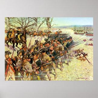 Batalla del tribunal de Guilford de Charles McBarr Poster
