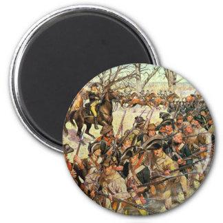 Batalla del tribunal de Guiliford Imán Redondo 5 Cm