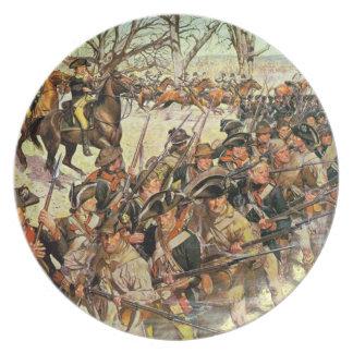 Batalla del tribunal de Guiliford Platos