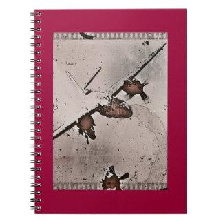 Batalla en el cielo WWII Spiral Notebooks