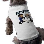 Batalla en el hielo camisetas mascota