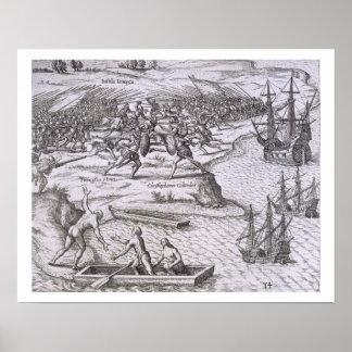 Batalla en Jamaica entre Cristóbal Colón (14 Posters