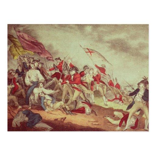 Batalla en la colina de arcón tarjetas postales