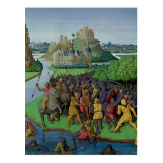 Batalla entre el Maccabees y el Bacchides Postal