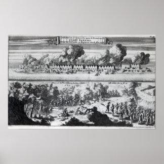 Batalla entre los Buccaneers Poster