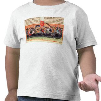 Batalla entre los romanos y Gauls Camisetas