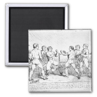 Batalla famosa entre R.Humphreys y la D. Imán De Frigorifico