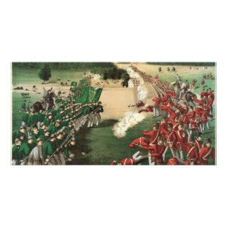 Batalla feniana de las incursiones de la piedra ca tarjeta fotografica