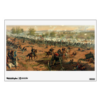 Batalla Gettysburg Hancock en Gettysbug Thulstrup