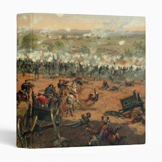 "Batalla Gettysburg Hancock en Gettysbug Thulstrup Carpeta 1"""