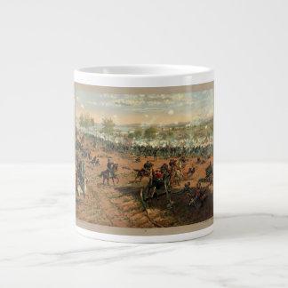 Batalla Gettysburg Hancock en Gettysbug Thulstrup Taza Grande