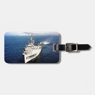 batalla los E.E.U.U. de las naves de los buques de Etiquetas Para Maletas
