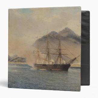 "Batalla naval del estrecho de Shimonoseki Carpeta 1 1/2"""